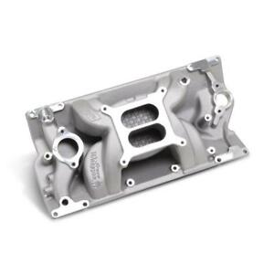 Weiand Intake Manifold 8502 Speed Warrior Satin For Chevy 5 0 5 7l Vortec