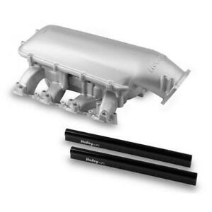 Holley Intake Manifold 300 128 Satin Aluminum For Chevy Ls3 L92