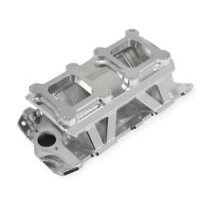 Sniper By Holley Intake Manifold 825071 Dual Quad Fabricated Aluminum For Sbc