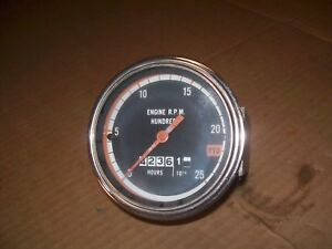 Oliver 1750 1755 1800 1850 1855 1950 1955 2050 2150 Farm Tractor Tachometer Nice