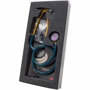 3m Littmann Classic Iii Rainbow Chestpiece Stethoscope Carribean Blue Tube 27