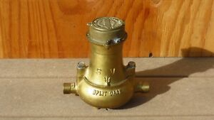 Antique Trident Neptune Water Meter Steam Punk Nos Never Mounted