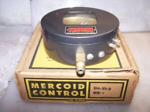 New Mercoid Type Da31 3 Pressure Control Switch 120 240 Vac