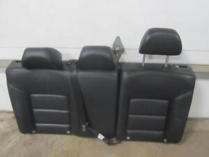 03 Volkswagen Jetta Black Leather Rear 2nd Seat Back Rest Sdn Sedan