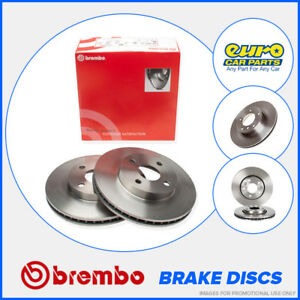 Brembo 09 8609 11 Front Brake Discs 277mm Vented Land Rover Freelander Mk1 Td4