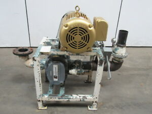 Gardner Denver Gafhbra 6hr 10hp Positive Displacement Blower Package