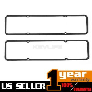 For Sbc Small Block Chevy 283 305 327 383 Steel Rubber Valve Cover Gaskets 7484b