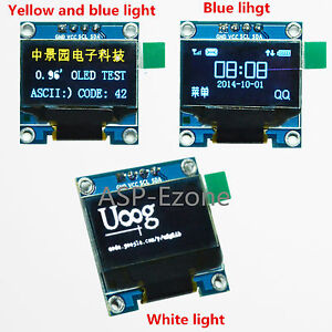 0 96in I2c Iic Serial 128x64 Oled Lcd Led Display Module Ssd1306 For Arduino