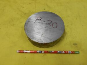 P20 Mold Steel Round Stock Machine Tool Die Shop P 20 Rod 5 Od X 1 7 16 Oal