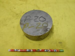 P20 Mold Steel Round Stock Machine Tool Die Shop P 20 Rod 4 1 2 Od X 1 3 4 Oal