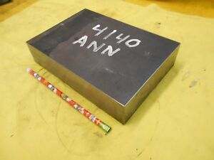 4140 Ann Steel Bar Stock Mold Tool Die Shop Flat Bar 1 3 4 X 5 5 8 X 8 1 8
