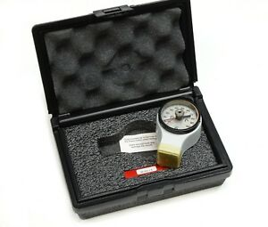 Ptc Instruments Analog Ergo Style Durometer 409 Astm Type D In Case Usa