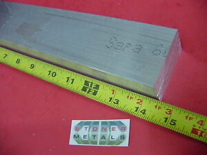 1 1 2 X 2 Aluminum 6061 Flat Bar 14 5 Long Solid T6 Mill Stock 1 5 x 2
