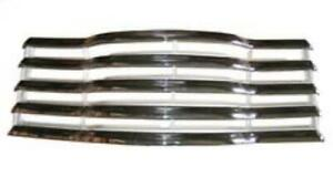 47 52 Chevy Pickup Truck Grille Chrome Assembly With Lamp Holes