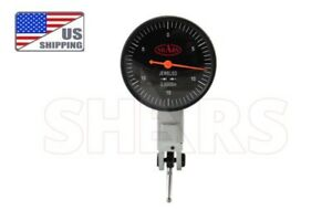 Shars Precision 1 5 Black Face Dial Test Indicator Set 0 15 0 030 0005