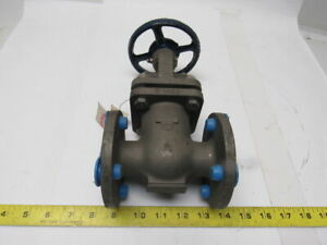 Powell Fig 2495 1 Flange Mount Cast Stainless Steel Gate Valve Class 150