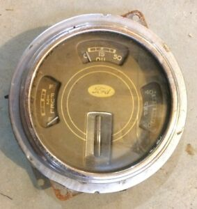 1937 1938 1939 Ford Gauge Cluster Rat Rod Hot Rod