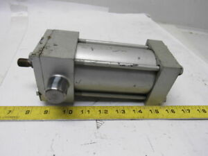Milwaukee A 71 2 1 2 Bore 3 Stroke Trunnion 250psi 5 8 Rod Air Cylinder