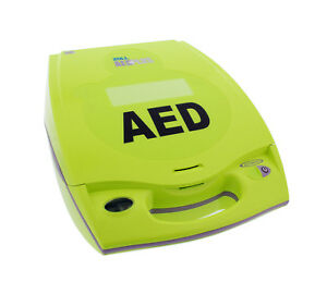 Zoll Medical 8000 004007 01 Aed Plus Package W Defibrillator Batteries And Pad