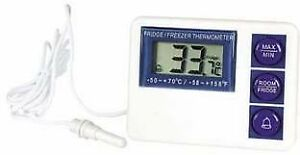 Vwr Digital Refrigerator freezer Thermometer With Alarm 3804 Vwr Fridge freezer