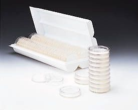 Pall Petri Dishes 50mm Sterile Pall Life Sciences 7242 Plain