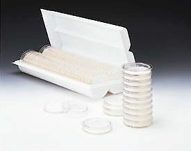 Pall Petri Dishes 50mm Sterile Pall Life Sciences 7245 With Preloaded