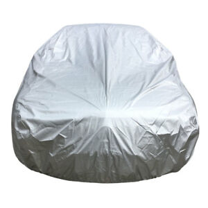 For Universal Silver Uv Water Raindust Proof Outdoor Whole Car Cover Size 3xl