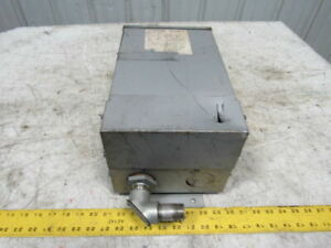 Dongan 85 1055sh 1 Ph Electric Transformer Prim 240 X 480v Sec 120 240v