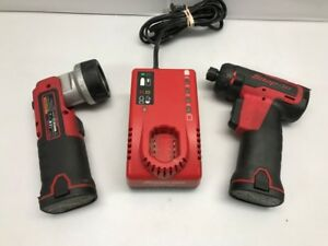 Snap on Cts661 7 2v Cordless 1 4 Screwdriver And Led Light Kit gce028248