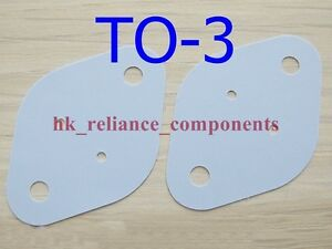 1000 Silicone Rubber To 3 29x42mm Insulator Pad Sheets Transistor Heat Sink