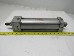 Milwaukee A 62 Pneumatic Air Tie Rod Cylinder 2 1 2 Bore 8 Stroke Rod Clevis