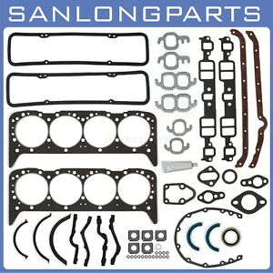 For 55 79 Small Block Chevy Sbc 283 327 350 Overhaul Gasket Set Sealed Power