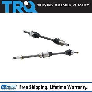 Trq New Complete Front Cv Axle Shaft Assembly Pair 2pc Set For Camry 2 5l