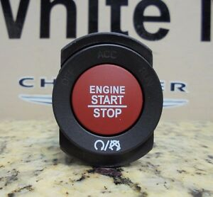 15 18 Challenger Charger Cherokee New Ignition Switch Start Push Button Red