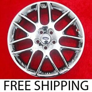 Exchange Set Of 4 New Chrome 18 Ford Mustang Oem Factory Wheels Rims V6 Gt 3886