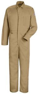 Bulwark Contractor Coverall Nomex Iiia 4 5 Oz Tan Rg44 Cnc2tn rg 44