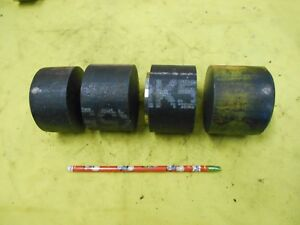 4 Pc Lot Nak55 Mold Steel Round Stock Machine Tool Die Shop P 20 Rod 3 1 8 Od