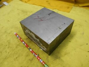H 13 Tool Steel Bar Stock Machine Mold Die Shop Flat 2 3 8 X 4 1 2 X 5 Oal