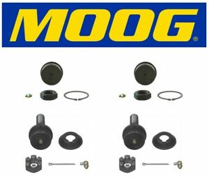 Ford Excursion Dodge Ram 2500 3500 4x4 4wd 2 Upper 2 Lower Ball Joints Moog