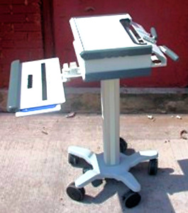 Gcx Instrument Vhrs Variable Height Roll Stand Mounting System Cart Work Surface