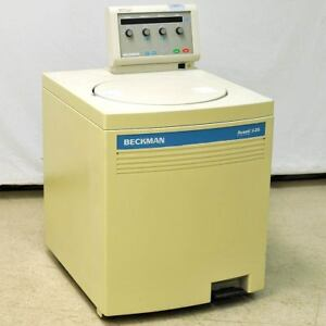 Beckman Avanti J 25 Refrigerated Centrifuge 20 c With 17000rpm Ja 17 Rotor