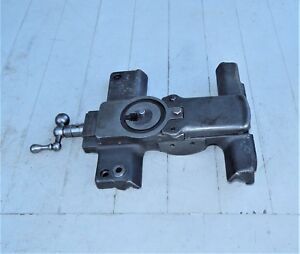 9 South Bend Junior Lathe Saddle W Compound Rest Base Slide