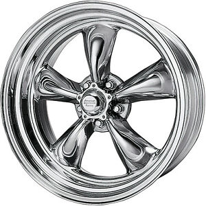 4 American Racing Torque Thrust Ii Wheels Torq 17x8 Amp 9 5 Staggered Chevy