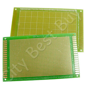 20 X Bread Board Panel Prototype Pcb 90mm X 150mm 1440 Holes Fr4 Green G1
