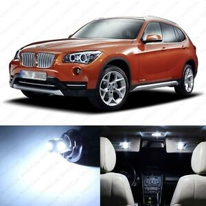 15 X White Led Interior Canbus Light Package For 2013 2015 Bmw X1 E84