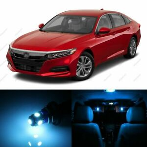14 X Ice Blue Led Lights Interior Package For Honda Accord 2013 2019 Tool