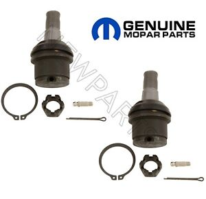 For Dodge Ram 2500 3500 Pair Set Of Front Lower Left Right Ball Joints Mopar