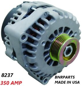 350 Amp 8237n Alternator Chevy Cadillac Gmc Performance Made In Usa High Output