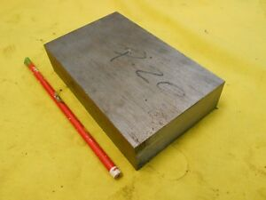 P20 Steel Bar Stock Mold Tool Die Shop Flat Bar 1 1 4 X 3 1 2 X 6 Oal