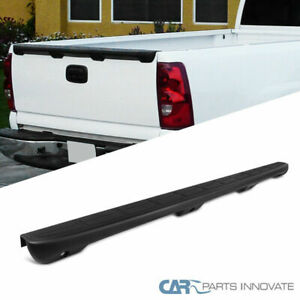 For 99 07 Chevy Silverado Gmc Sierra Fleetside Black Spoiler Tailgate Protector